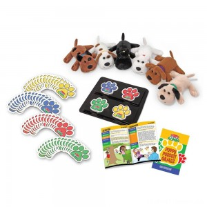 Melissa & Doug Puppy Pursuit Games - 6 Stuffed Dogs, 60 Cards - 10 Games With Variations Clearance Sale