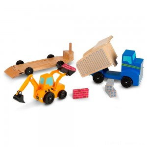 Melissa & Doug Dump Truck & Loader Clearance Sale