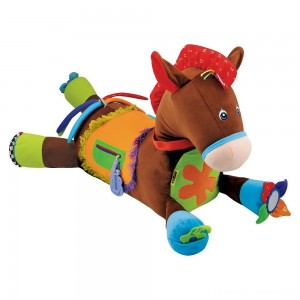Melissa & Doug Giddy-Up and Play Baby Activity Toy - Multi-Sensory Horse Clearance Sale