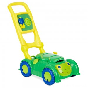 Melissa & Doug Sunny Patch Snappy Turtle Lawn Mower - Pretend Play Toy for Kids Clearance Sale