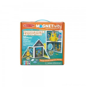 Melissa & Doug Magnetivity - Underwater Adventure Set Clearance Sale