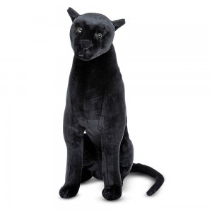 Melissa & Doug Giant Panther - Lifelike Stuffed Animal (nearly 3 feet tall) Clearance Sale