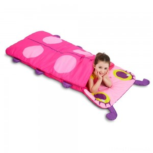 Melissa & Doug Sunny Patch Trixie Ladybug Sleeping Bag With Matching Storage Bag Clearance Sale