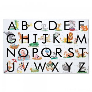 Melissa And Doug Learn The Alphabet Floor Puzzle 24pc Clearance Sale
